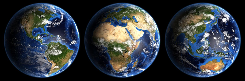 Planeten-Erde-Mieten vektor abbildung