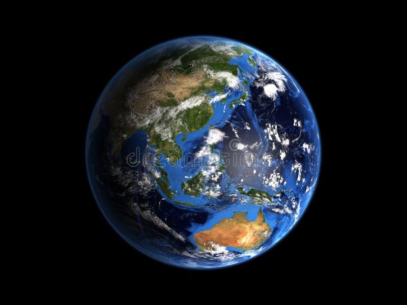 Planeten-Erde-Mieten lizenzfreie abbildung
