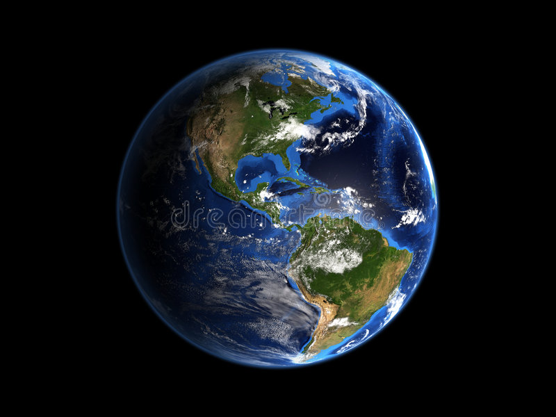 Planeten-Erde-Mieten stock abbildung