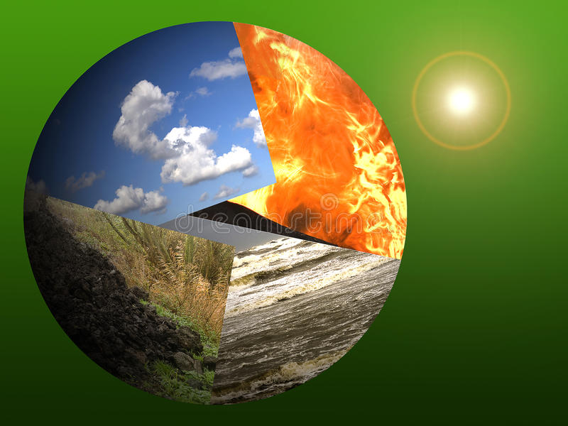 Planeten-Erde und die Sonne vektor abbildung