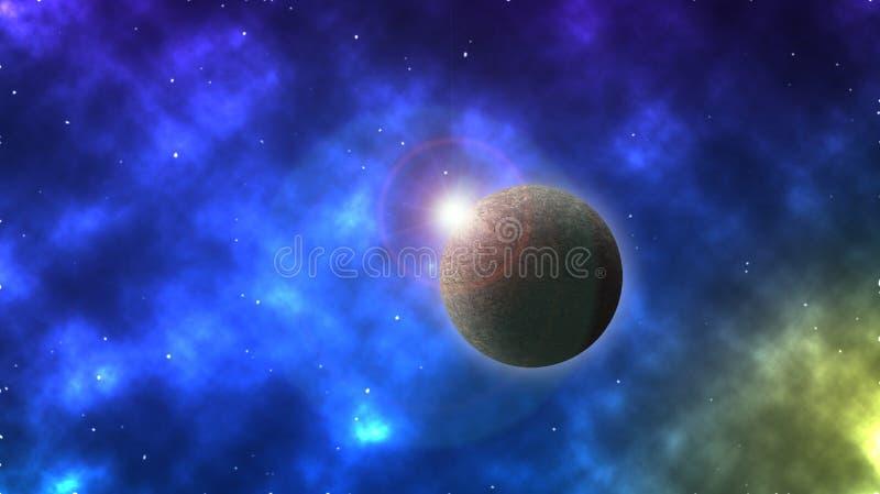 Planetentapete stockbilder