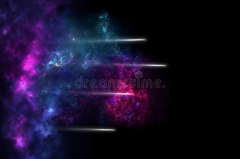 Planeter, galax, universum, himmel f?r stj?rnklar natt, galax f?r mj?lkaktig v?g med stj?rnor och utrymmedamm i universumet, l?ng arkivbild