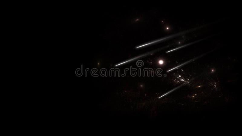 Planeter och galax, kosmos, fysisk kosmologi arkivfoton