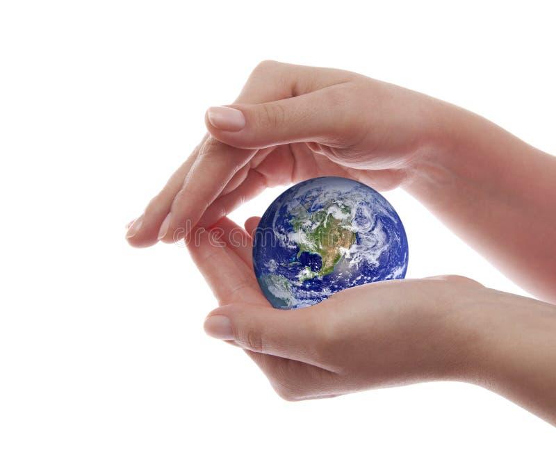 Skydda jorden royaltyfri bild