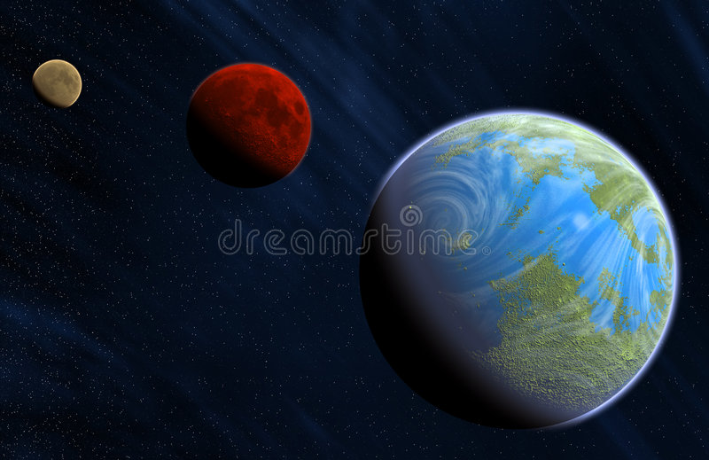Download Planets stock illustration. Image of globe, earth, cosmos - 2094922
