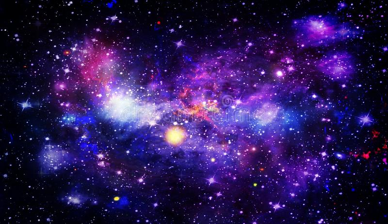 Planets and galaxy, science fiction wallpaper. Beauty of deep space. Planets and galaxy, science fiction wallpaper. Astronomy is the scientific study of the stock photography