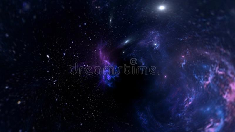 Planets and galaxy, science fiction wallpaper. Astronomy is the scientific study of the universe stars, planets, galaxies, and eve stock image