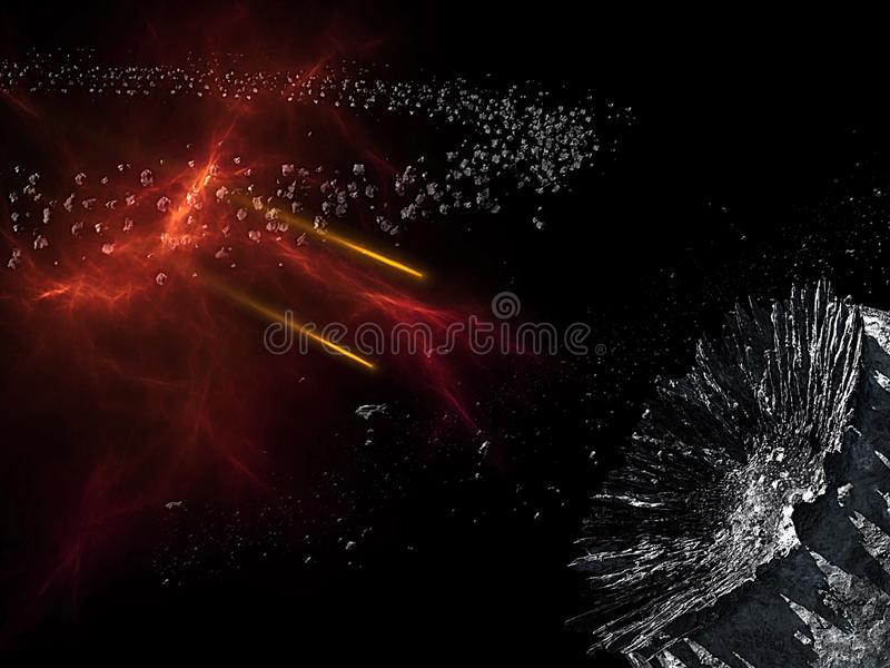 Planets and galaxy, science fiction wallpaper. Beauty of deep space. Billions of galaxy in the universe Cosmic art background, Ver. Universe all existing matter vector illustration