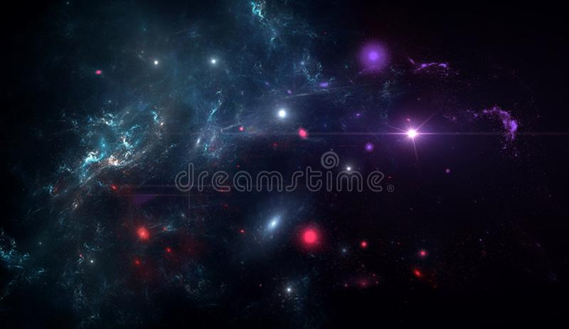 Planets and galaxy, science fiction wallpaper. Beauty of deep space. Planets and galaxy, cosmos, physical cosmology, science fiction wallpaper. Beauty of deep stock image