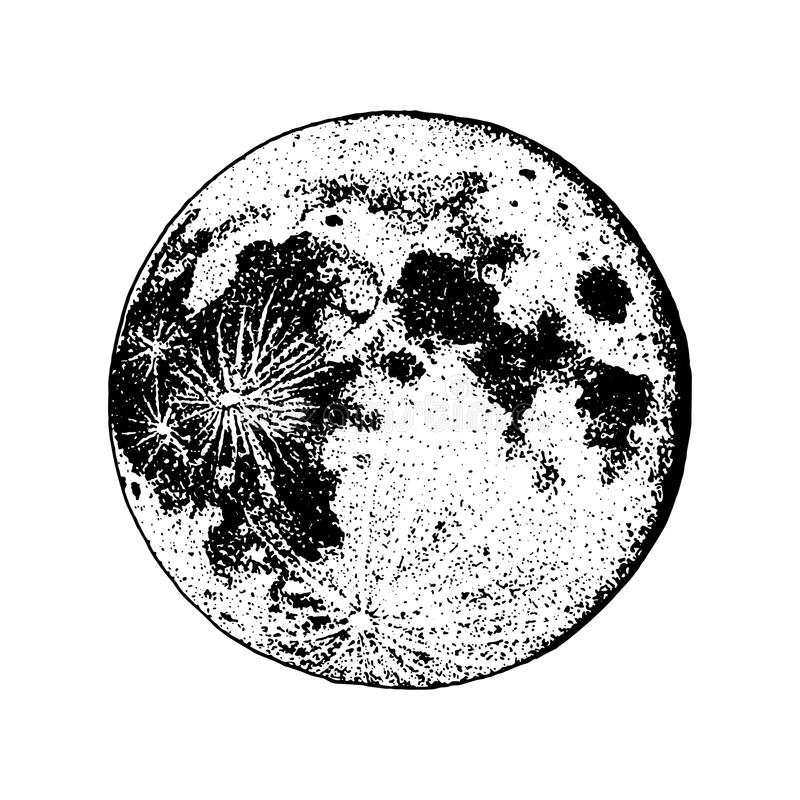 Planets in solar system. moon and astrology. astronomical galaxy space. orbit or circle. engraved hand drawn in old. Sketch, vintage style for label vector illustration