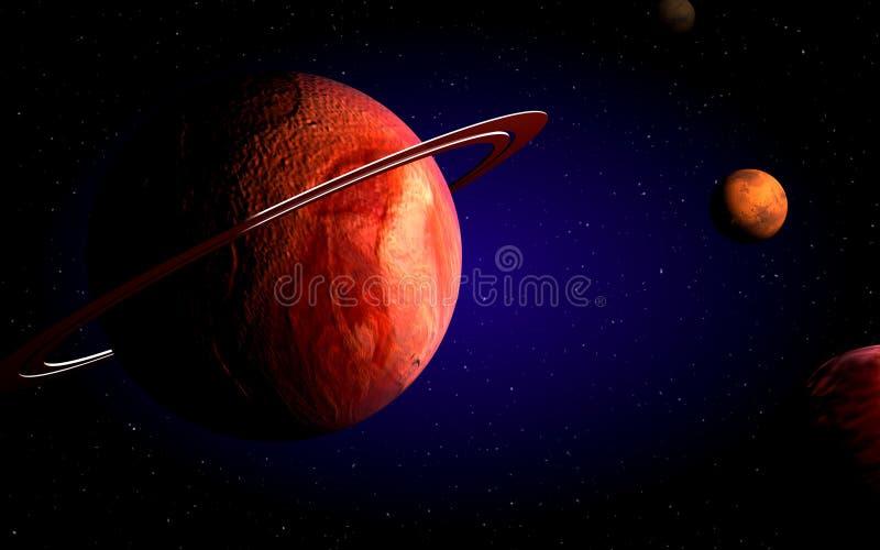 planety royalty ilustracja