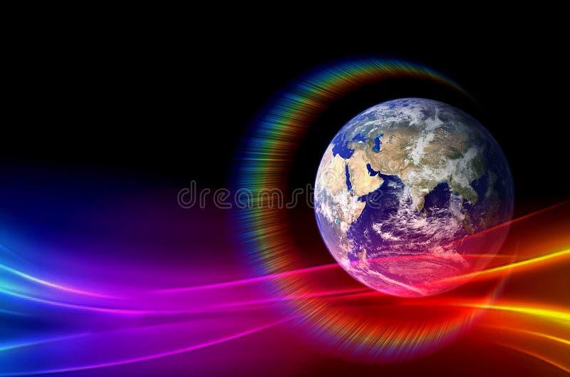 Planety, galaxy, wszech?wiat, Gwia?dzisty nocne niebo, drogi mlecznej galaxy z gwiazdami i astronautyczny py? w wszech?wiacie, D? obrazy stock