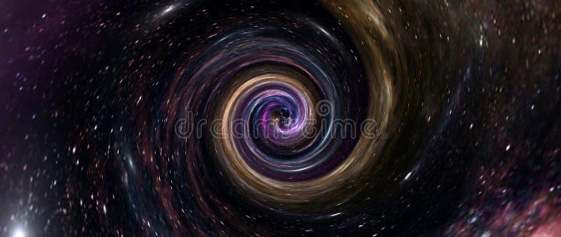 Planety i galaktyki, tapeta science fiction Astronomia jest naukowym badaniem gwiazd wszechświata, planet, galaktyk i wiosenki fotografia stock