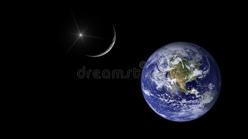 Planety i galaxy, nauki fikci tapeta Pi?kno g??boka przestrze? Miliardy galaxy w wszechrzeczym Pozaziemskim sztuki tle, Ver zdjęcia royalty free
