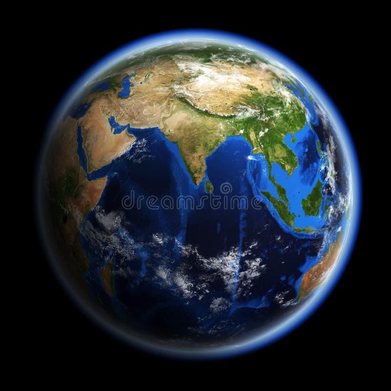 Planety Ziemia royalty ilustracja