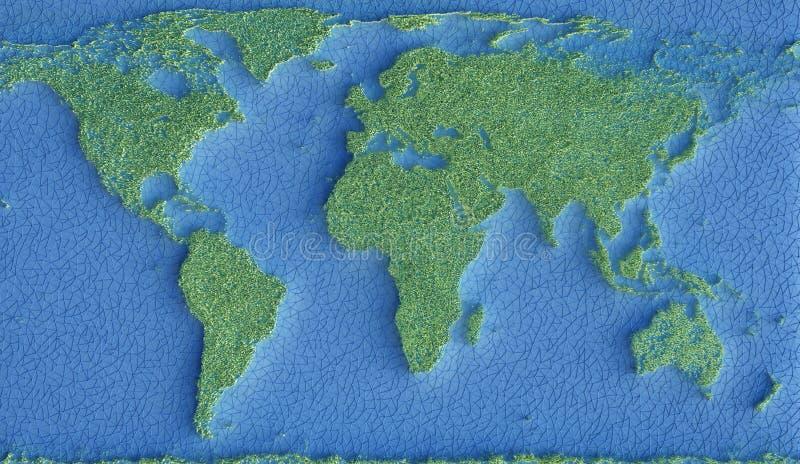 Planety Ziemska ekologia Podtrzymywalna zdjęcia stock