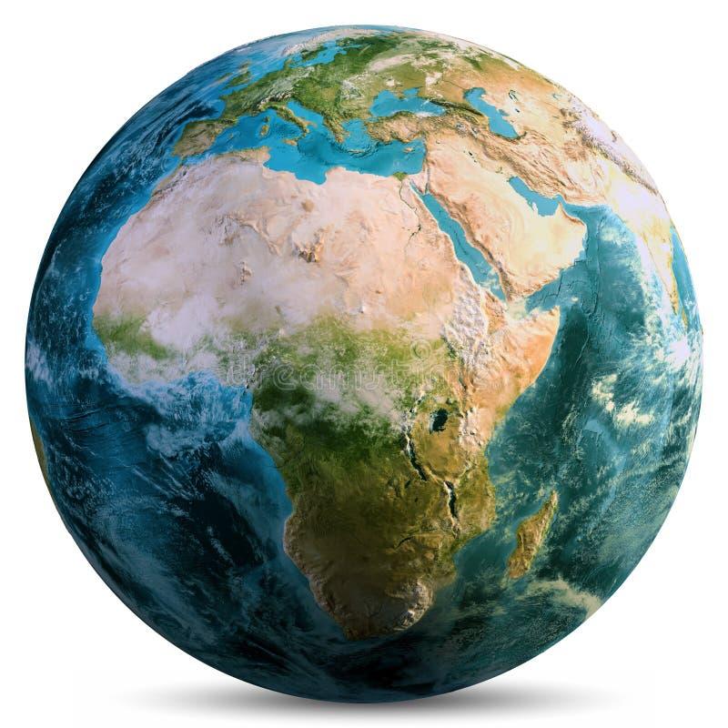 Planety ziemska kula ziemska ilustracji