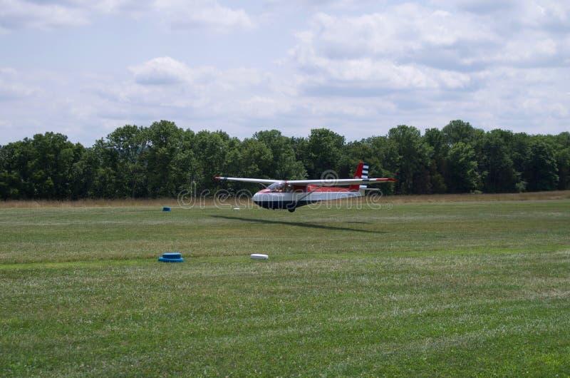 Planeur, planeur, atterrissage, aviation, d'arrivée, photo libre de droits