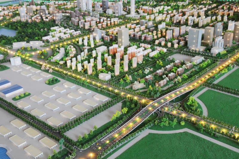 planform города модельный стоковые изображения rf