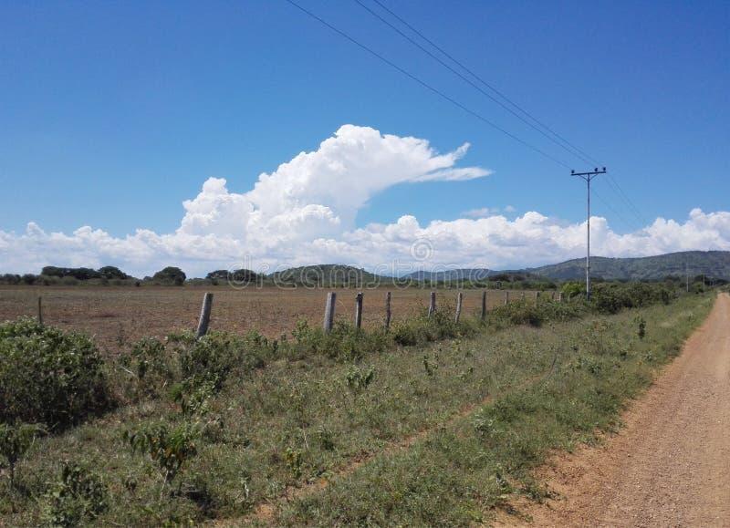Planicie dans Urica, endroit de la bataille héroïque, près de la colline de coeur photographie stock