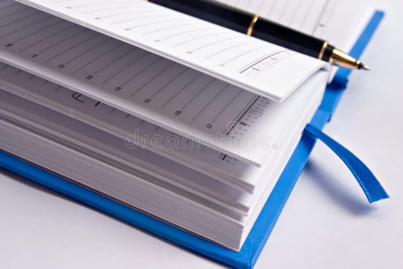 Planificador fotografía de archivo libre de regalías
