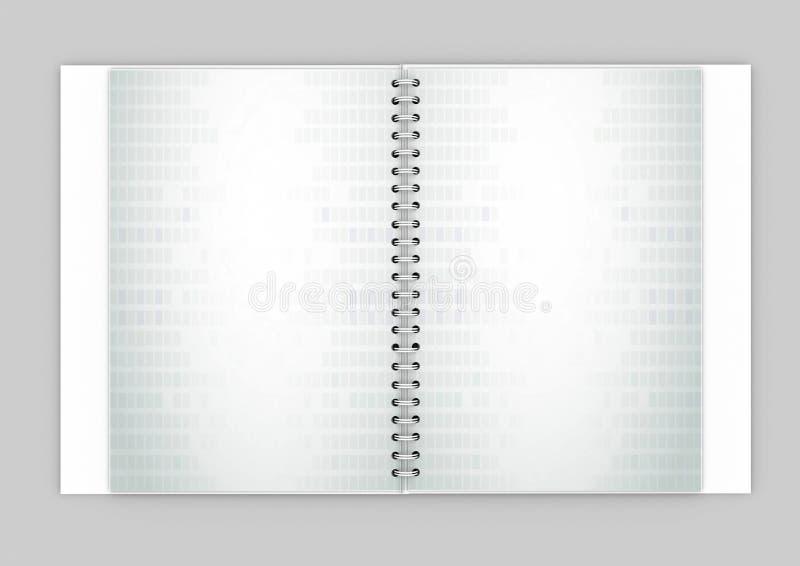 Planificador diario stock de ilustración