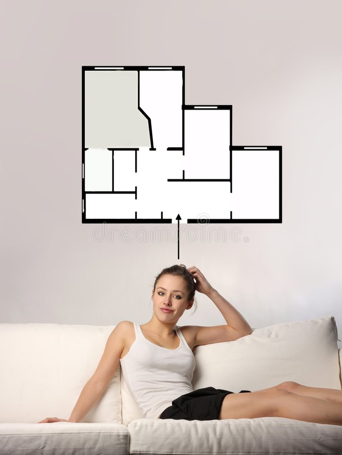 planification à la maison photos libres de droits