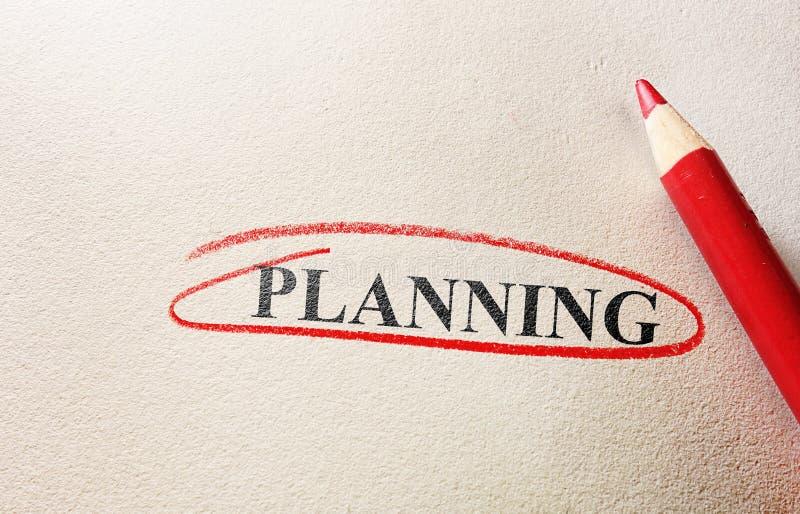 planification photographie stock libre de droits