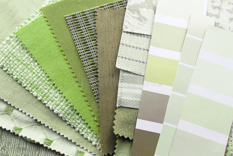 Planification de décoration intérieure et de rénovation images stock