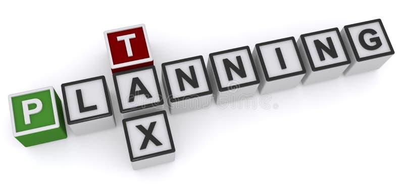 Planification des impôts illustration libre de droits