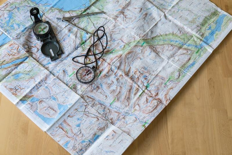 Planification du voyage r?veur image stock