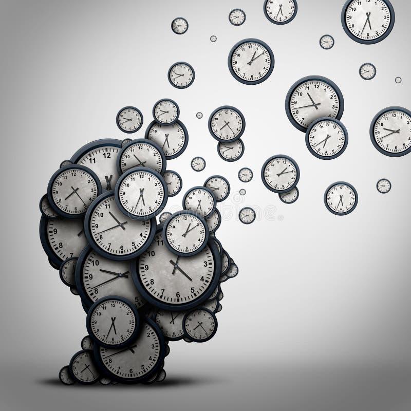 Planistyczny czasu pojęcie ilustracji
