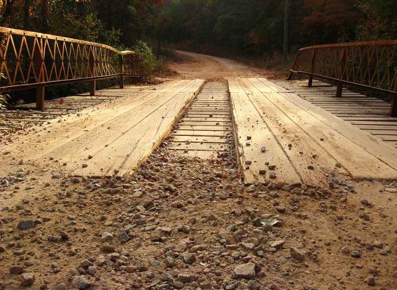 Plank Bridge royalty free stock images