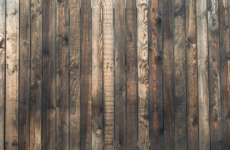 Plank fence royalty free stock photos