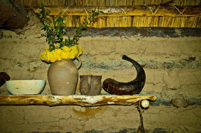 Plank in hut stock afbeeldingen