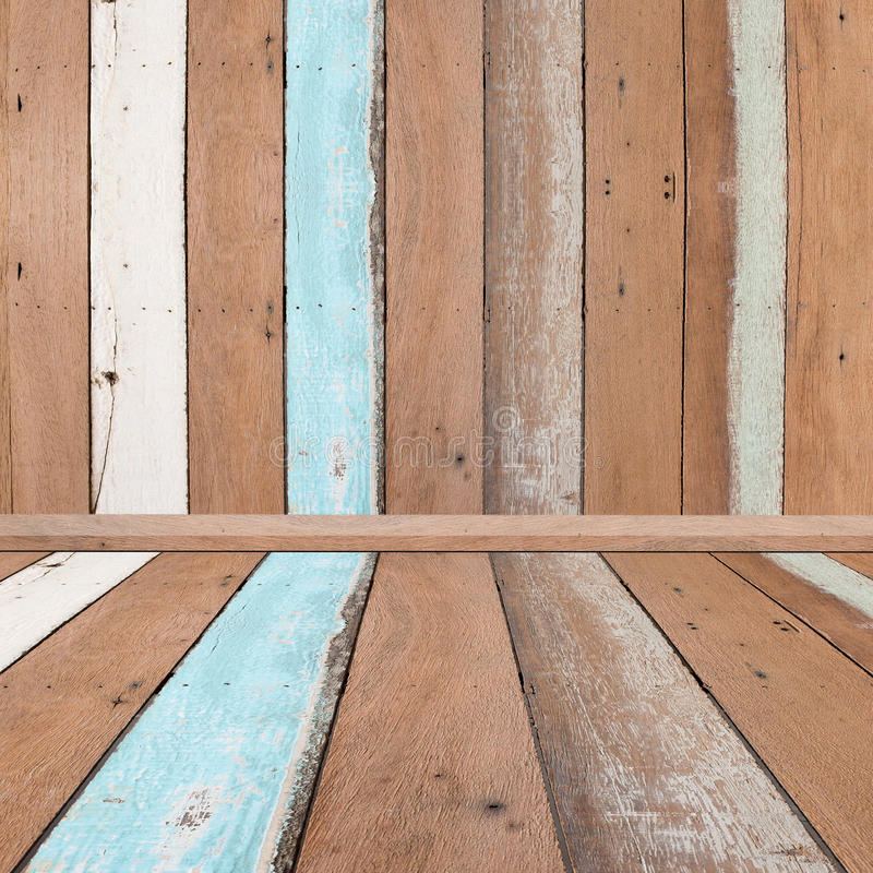 Plank wood pastel tone pattern for texture and background. stock photo