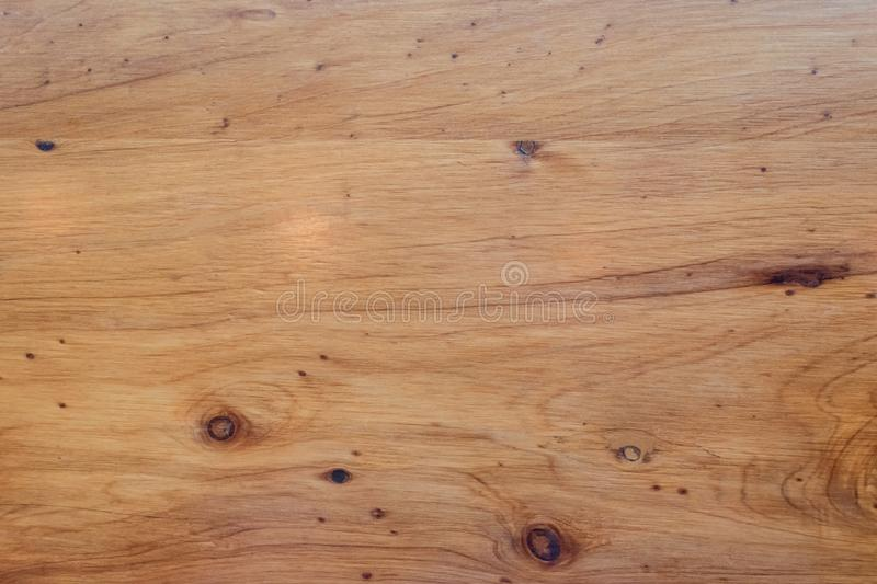 Wooden background. Plank of wood with visible wood grain and texture royalty free stock photography