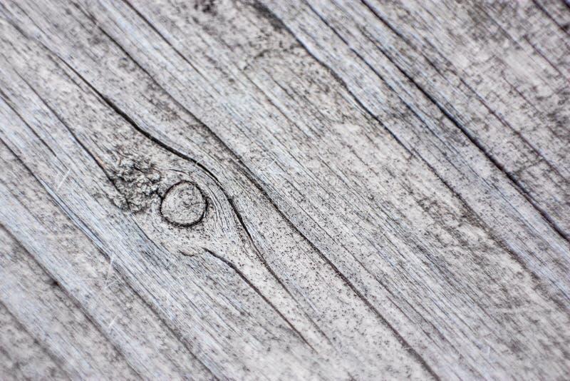 Planka av det gråa wood texturslutet upp arkivfoto