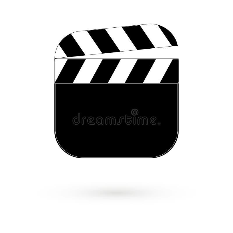 Planke für Film Raster 1 1 vektor abbildung