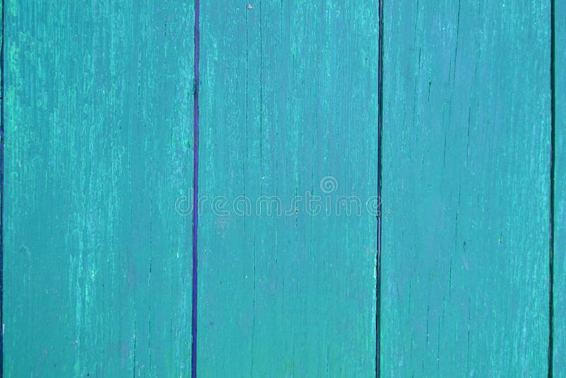 Planken-Hintergrundbeschaffenheit der hellblauen Vertikale des Türkises hölzerne, Abschluss oben Sch?biger schicker Hintergrund lizenzfreies stockbild