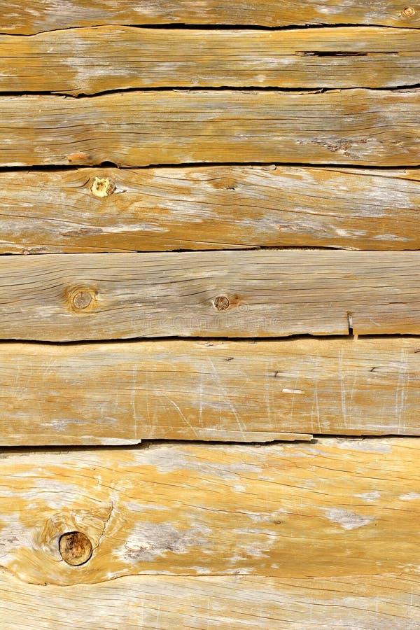 Planking de madeira da cabana da praia foto de stock royalty free