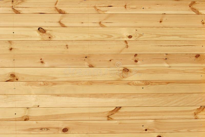 Planking du bois de hutte de plage images libres de droits