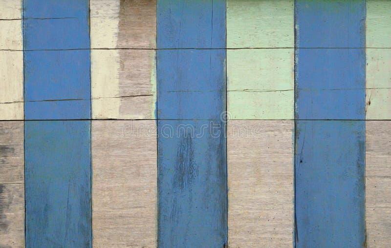 Planlägger abstrakt wood målarfärgtextur för vit, för gräsplan och för brunt lodisar arkivfoto