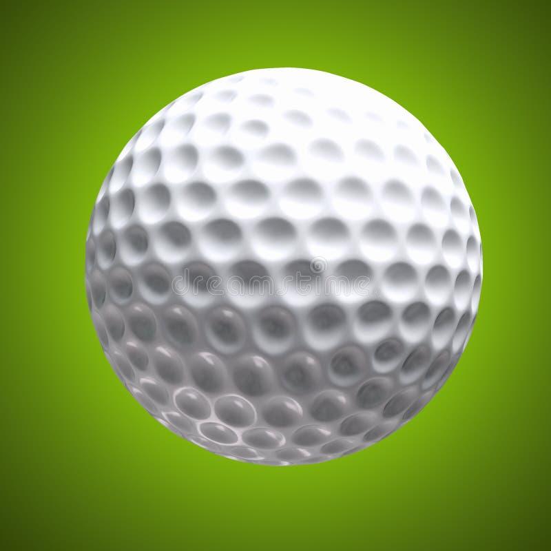 Planlagd golfbakgrund vektor illustrationer