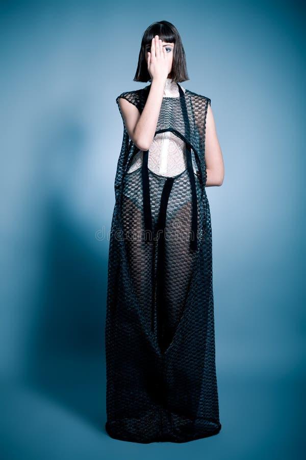 Planlagd klänning royaltyfri fotografi