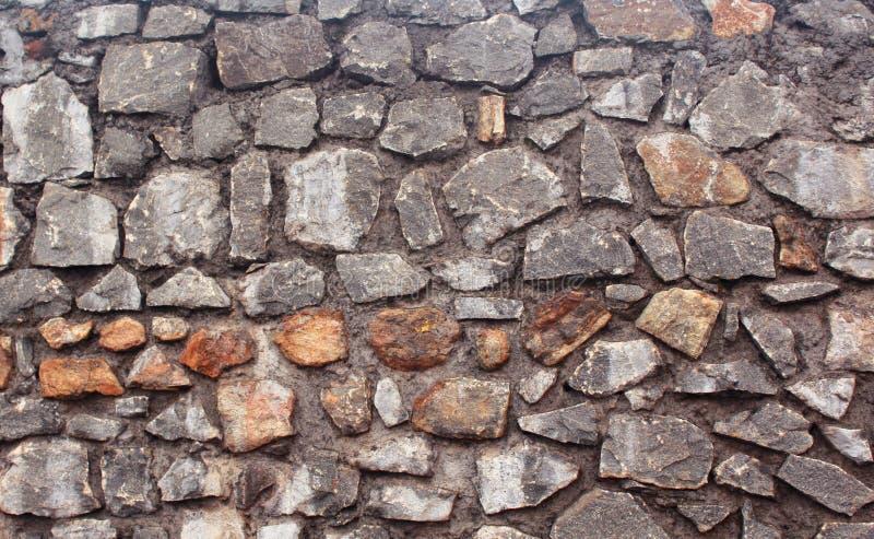 Planlagt med härlig textur för stenvägg royaltyfria bilder
