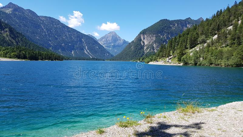 PlanLake Αυστρία στοκ φωτογραφία με δικαίωμα ελεύθερης χρήσης