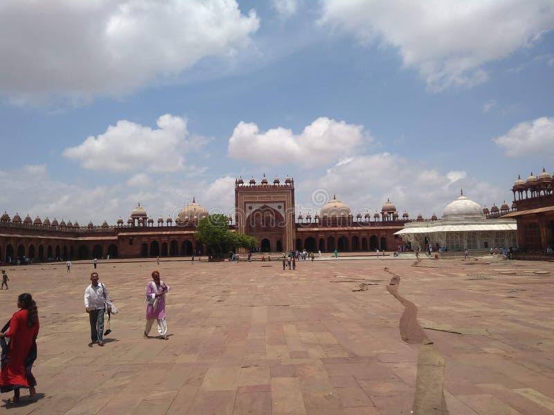 Beautiful scenery in india royalty free stock photos