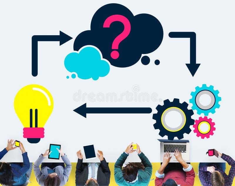 Plannend de Innovatie Creatief Concept van de Ideeinspiratie stock afbeeldingen