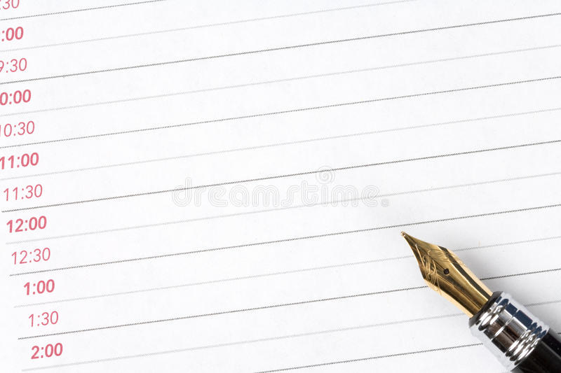 Download Planner stock photo. Image of appointment, close, busy - 10887782